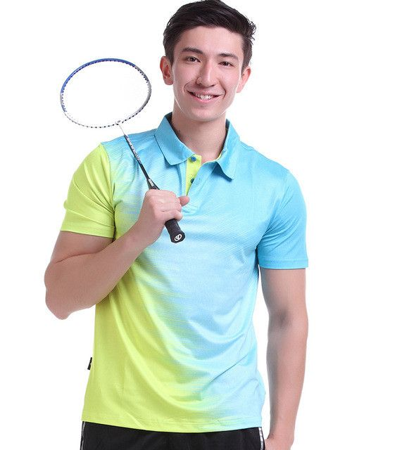 New Sportswear Quick Dry badminton shirt ,Women / Men badminton clothes table tennis shirt table tennis clothes POLO T Shirts