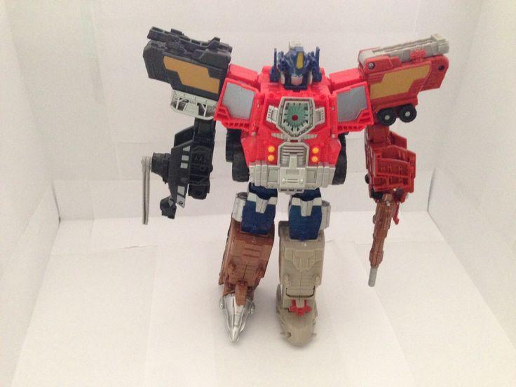 Optimus Prime Power up mode