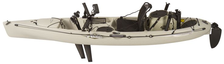 Revolution 11 : Hobie Kayak rigged with a Hobie Livewell