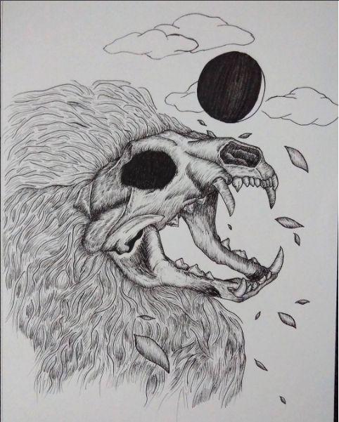 Illustration - The Lion