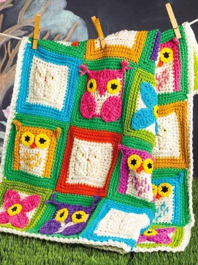 Crochet - Night Owls - #EC01284