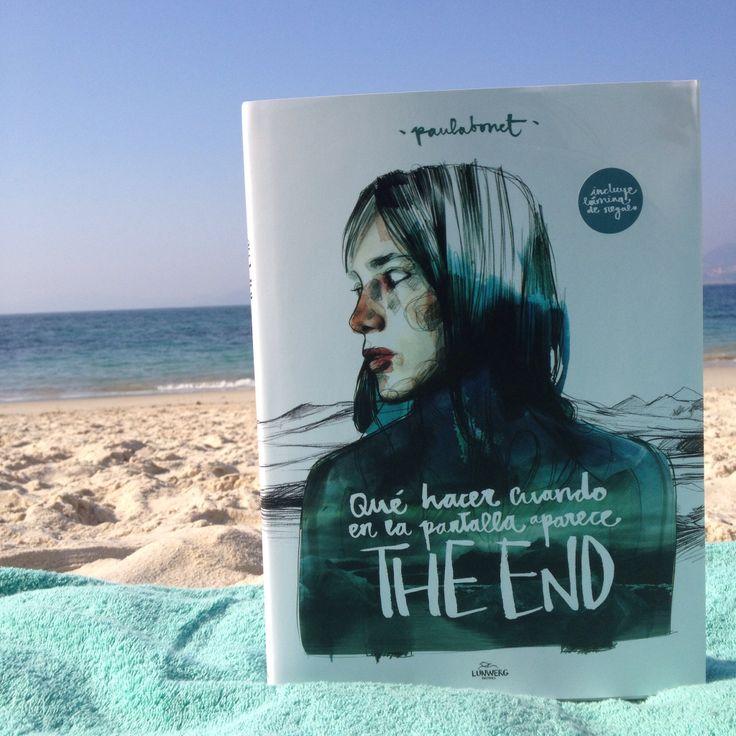 Paula Bonet - Qué hacer cuando en la pantalla aparece the end. Me encanta este libro :) Foto de www.miamandarina.es