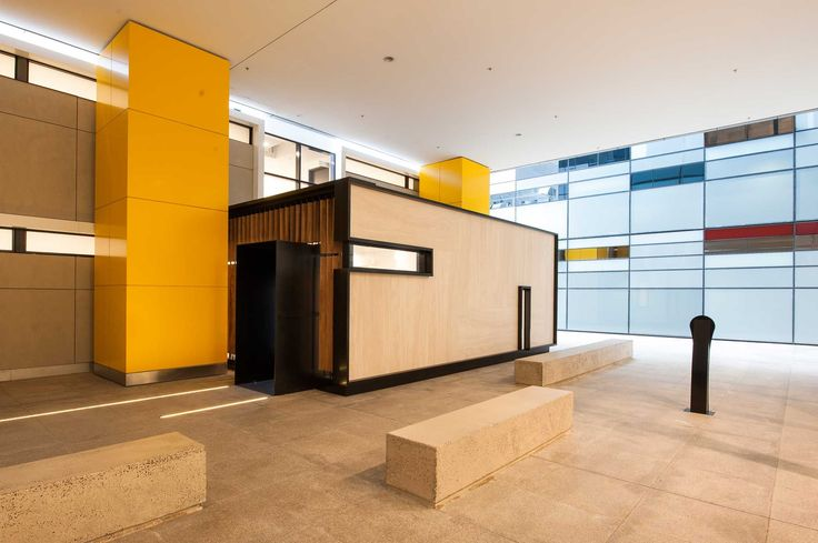 Peddle Thorp - 8 Exhibition Street EOT Facilities, Melbourne