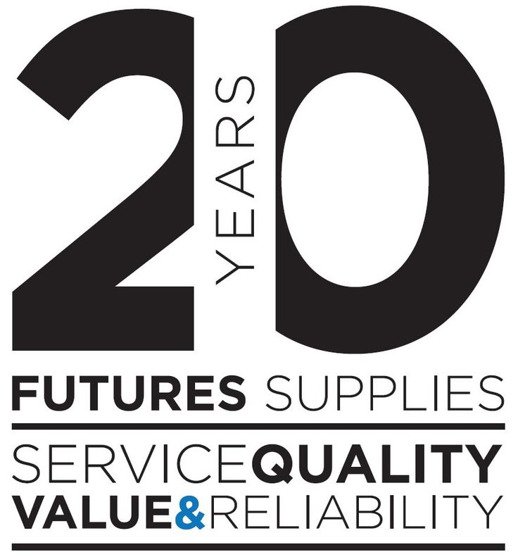 Futures Supplies 20 Years Logo More
