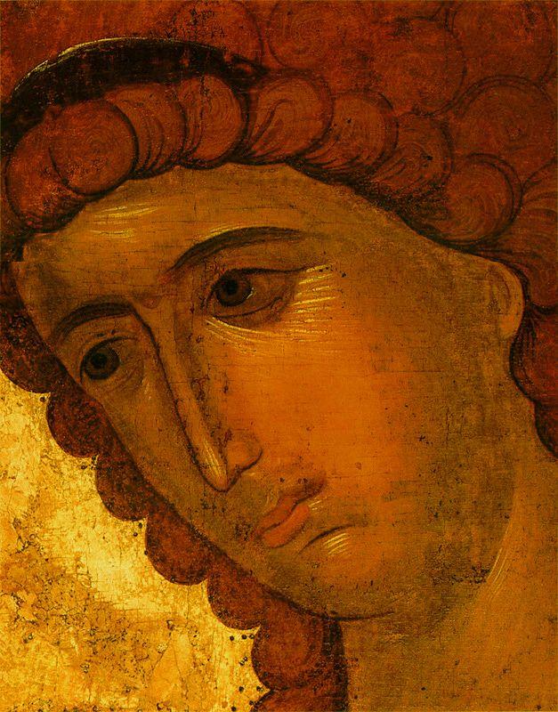 Фрагмент 1387-1395 гг. Архангел Гавриил.