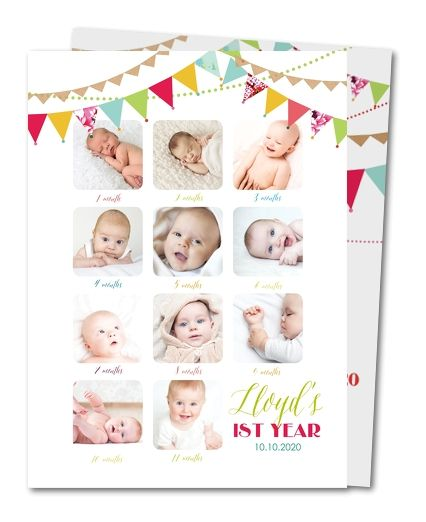 37 best BABY Babyu0027s 1st Year images on Pinterest 1st year, Babys - invitation card for ist birthday