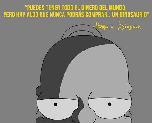 Homero Simpson es la neta!