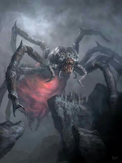Okay, kaiju-sized spiders are a bit much, but it looks so cool, I couldn't help but grab it.