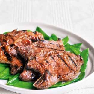 Grilled Char Siu Pork Chops | char-siu | Pinterest