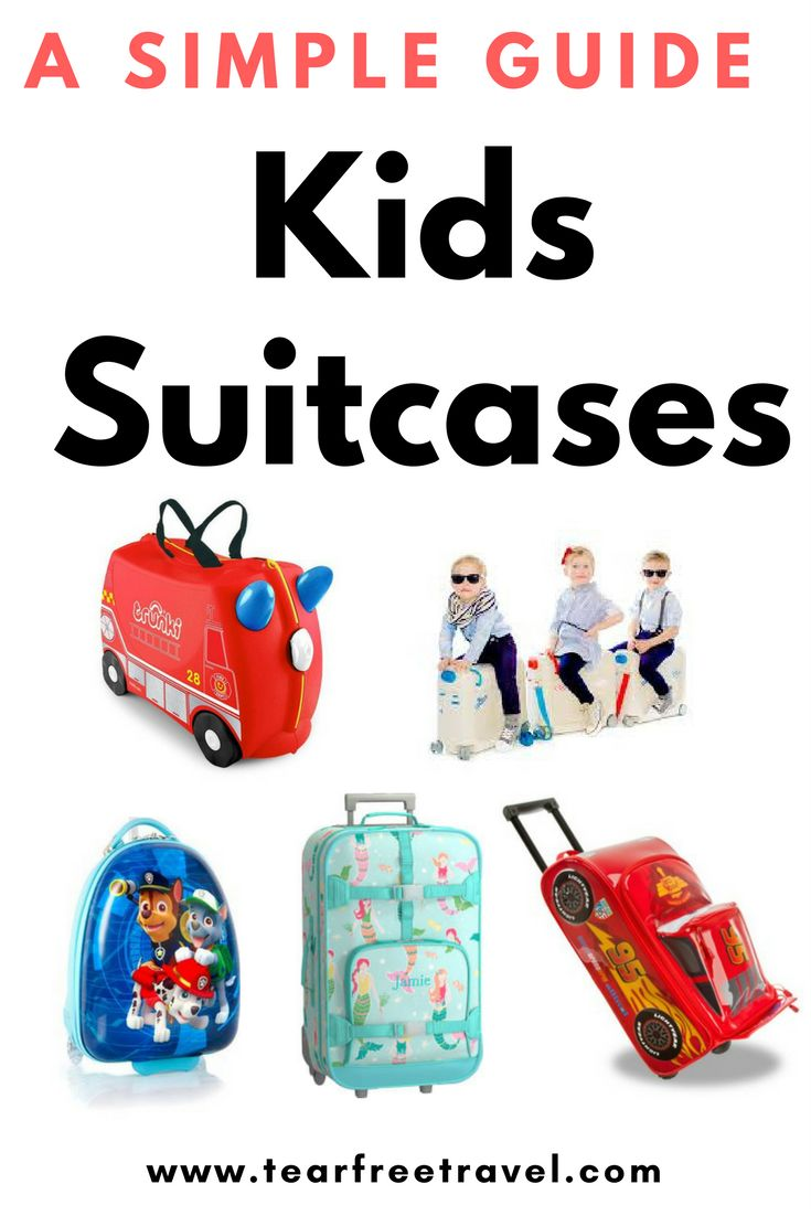 With so many options for kids luggage sets and kids suitcases on the market its hard to choose! When our little guy demanded his own 'toddler carry on'