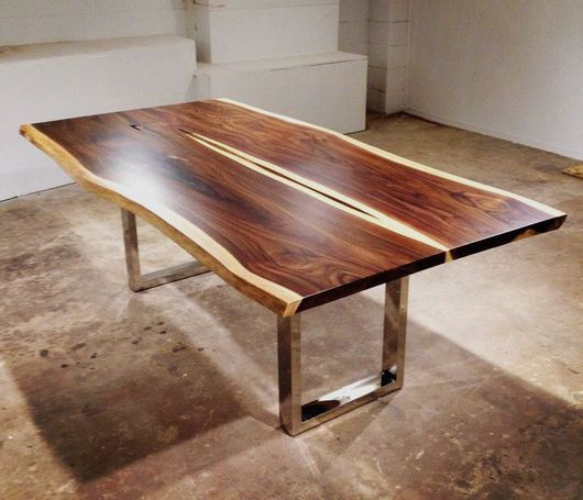 Мебель ручной работы. Ярмарка Мастеров - ручная работа. Купить Огромные столы из слэбов экзотических пород дерева. Handmade. Стол