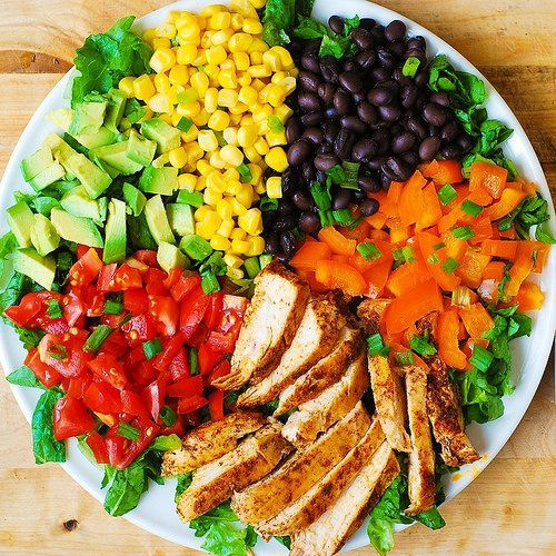 Southwestern Chopped Salad with Buttermilk Ranch Dressing