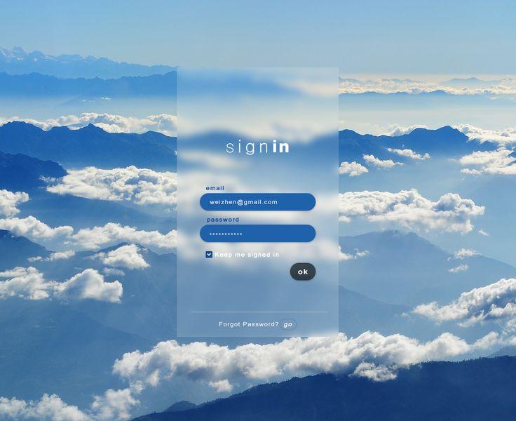 Login/signin page design                                                                                                                                                                                 More