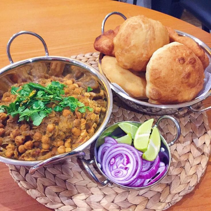 Comfort food: chole bhature #MangiaBene #HomeMade #TalesFromNW