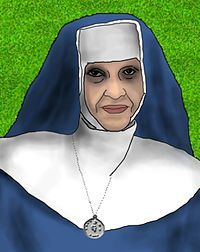 "Irmã Dulce Pontes -- Brazilian nun, the ""Angel of Alagados"", founded one of the oldest philanthropic organizations in Brazil"