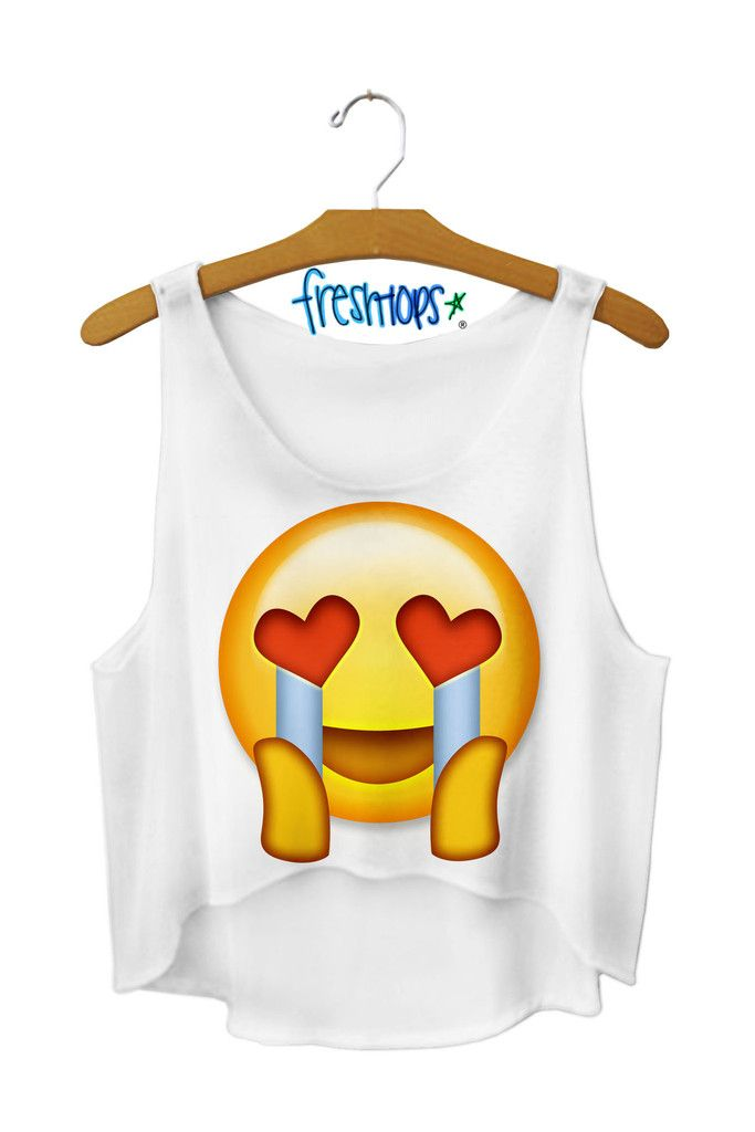 Freshtops.com where you can find emoji crop tops and even more fun things for summer!