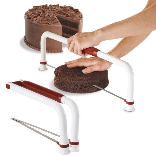 Large Ultimate Cake Leveler I use one of these almost every time I bake a cake. This is a great way to make sure all your cakes were level.