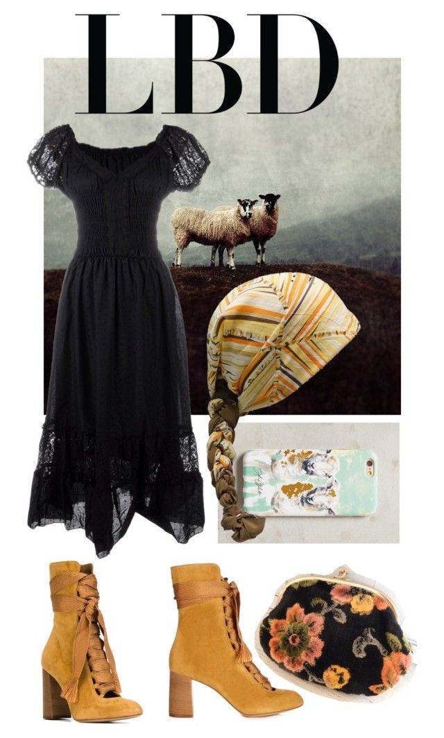 """Countryside fashion"" by ralugoii on Polyvore featuring Chloé, Lauren Carlson Walcott, Lanvin and country"