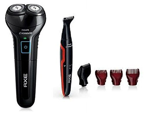 Special Offers - Philips Norelco Axe 2-Head Razor with Bonus Hair Detailer in Gift Box Packaging For Sale - In stock & Free Shipping. You can save more money! Check It (November 28 2016 at 03:04PM) >> http://electricrazorusa.net/philips-norelco-axe-2-head-razor-with-bonus-hair-detailer-in-gift-box-packaging-for-sale/