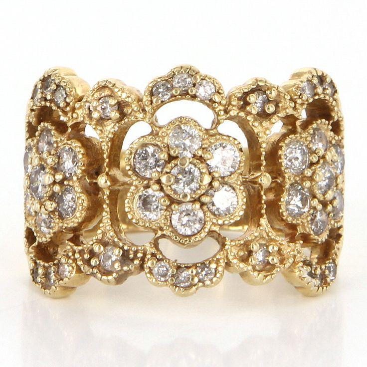 Karat Diamond Cluster Ring