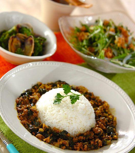 「ポパイカレー」の献立・レシピ - 【E・レシピ】料理のプロが作る簡単レシピ/2009.03.15公開の献立です。