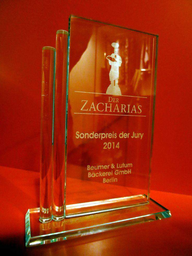 Zucker. & Beumer & Lutum erhalten den Zacharias 2014: Der Kommunikationspreis für Handwerksbäcker ehrt die Kampagne zum neuen Bio-Toastbrot.