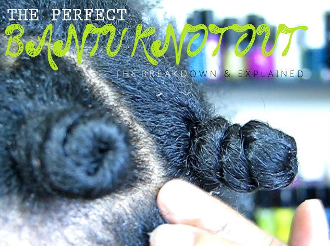 The Perfect Bantu Knot-Out- Natural Hair Style! | Curly Nikki | Natural Hair Styles and Natural Hair Care
