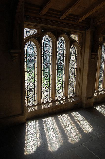 Ely Cathedral - stained glass with shadow | Flickr - Photo Sharing!