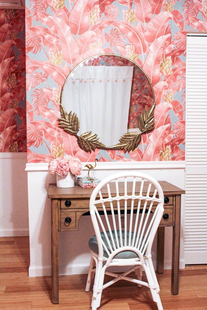 Can You Wallpaper Over Textured Walls At Home With Ashley In 2020 Textured Walls Master Bedroom Wallpaper Traditional Wallpaper