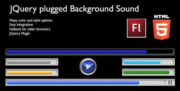 JQuery Plugged HTML5 Background Sound (Media)