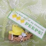 Easter Peep Treat and Free Printables