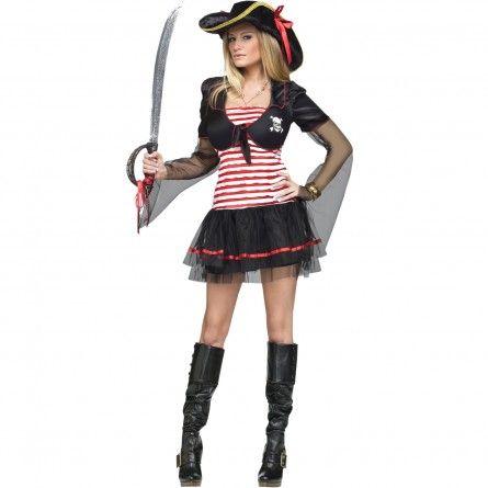 Black Pearl Pirate Womens Costume