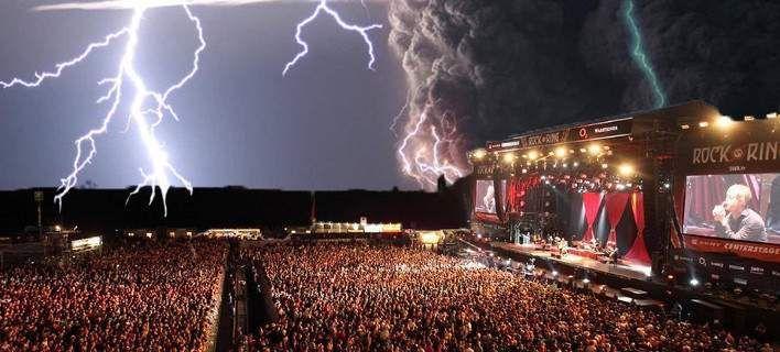 Γερμανία: Κεραυνός σε συναυλία τραυμάτισε 71 άτομα