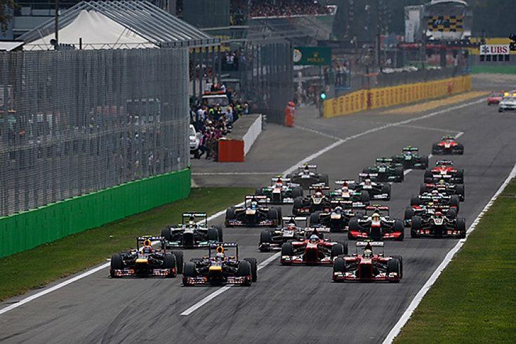 Monza F1 race