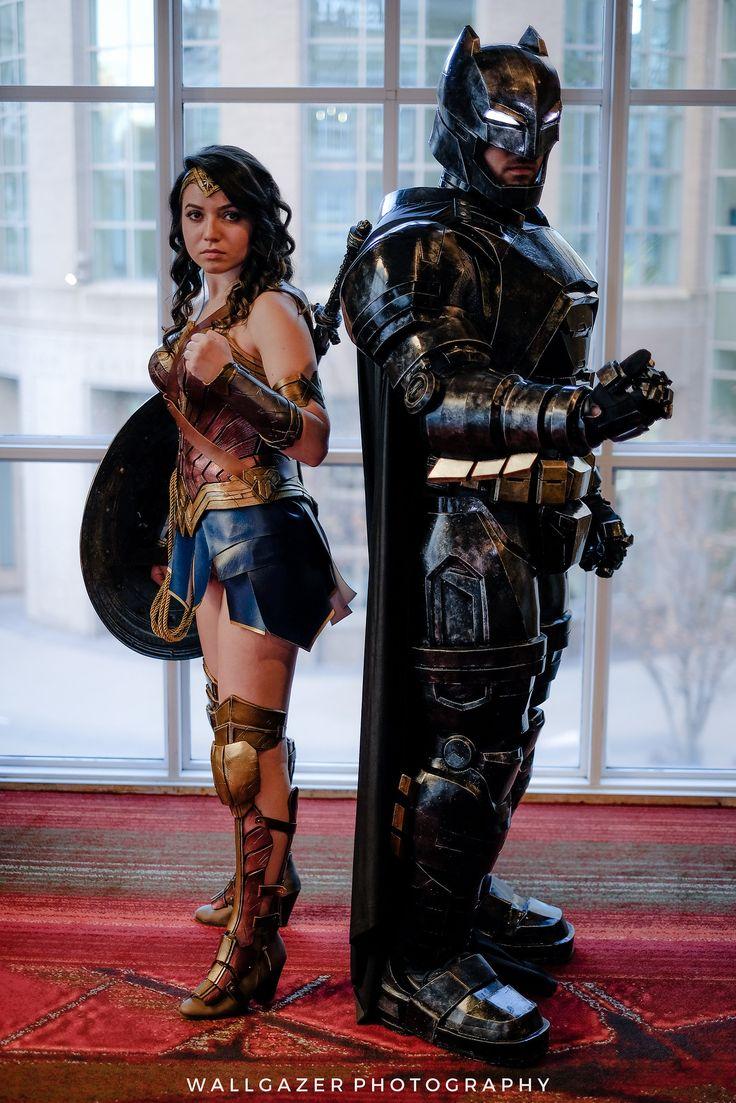 Wonder Woman and Batman #cosplay | RICC 2016 - photo by Tom DeRosa
