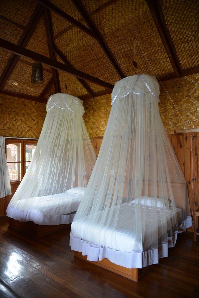 Las 25 mejores ideas sobre mosquitero en pinterest y m s - Como hacer un cabezal para la cama ...