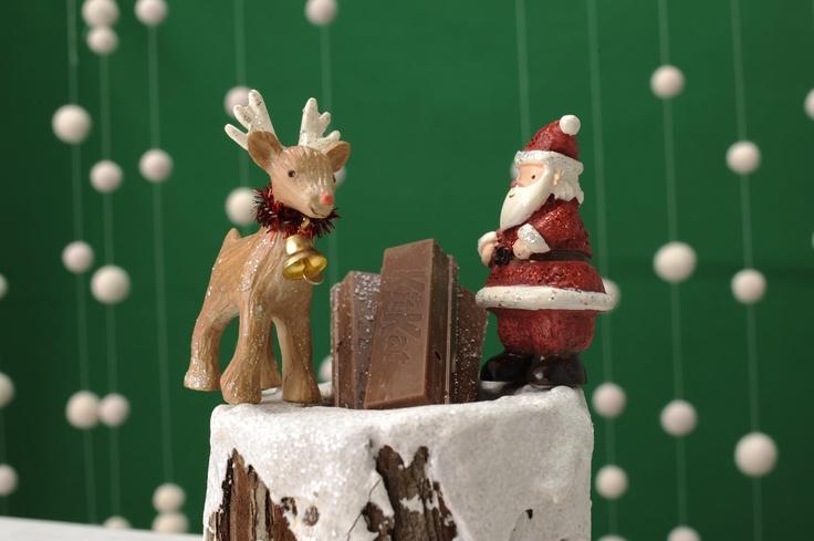 画像B:サンタがうちにやってきた!/Kit Kat(ネスレ日本 キットカット)
