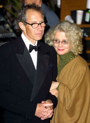 bruce paltrow and blythe danner up until his death a few years ago...he was a wonderful director and producer.  He was in Italy working on a film when he had a heart attack.  Blythe and their daughter Gwentha Paltrow were very saddened