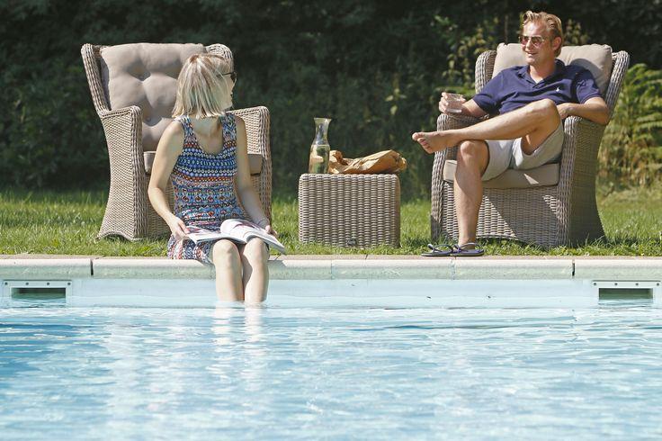 Bij Kees Smit houd de zomer nog even aan! #zomer #genieten