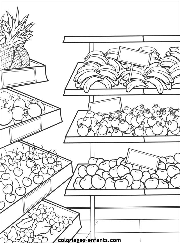 275 best Color or Draw me! Food! images on Pinterest