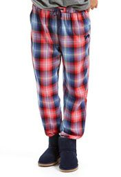 Cowgirl Check Tapered Pj Pant