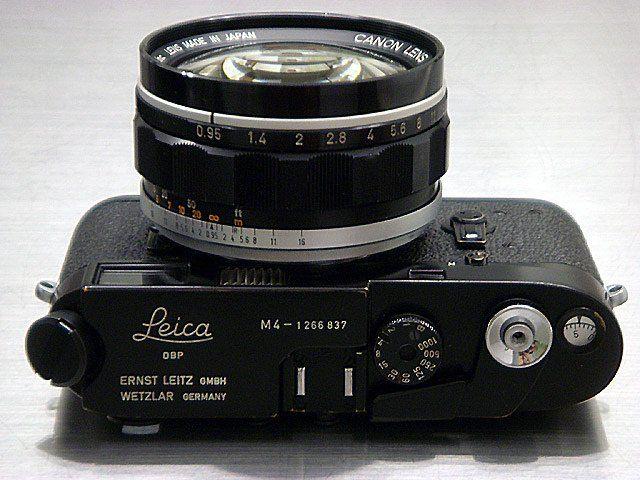 Leica M4  #camera #GadgetLove #Gadget #photography #LynnFriedman #Canon