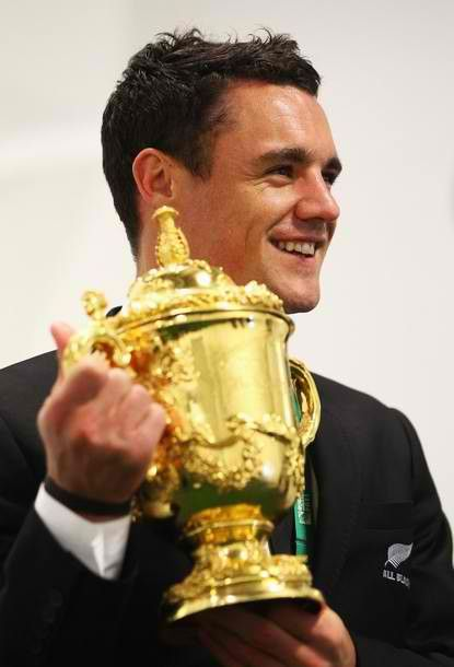 Dan Carter - For the best rugby gear check out http://alwaysrugby.com