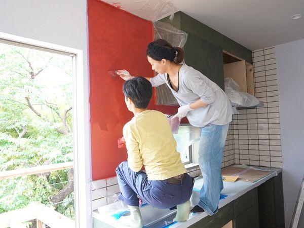 ENJOYWORKS/エンジョイワークス/DIY/ペンキ/塗装/リノベーション/renovation/SKELTONHOUSE/スケルトンハウス