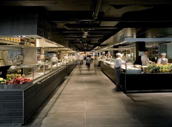 concrete architectural associates-de Bijenkorf kitchen