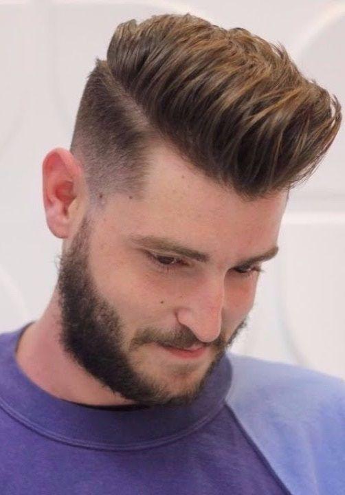 41 Stylish Hairstyles For Men 2019 Pics Bucket Short Hair With Beard Stylish Hair Short Hair Styles