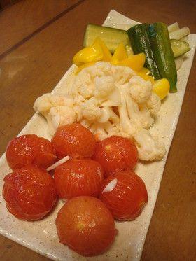 カリフラワーとカラフル野菜のピクルス