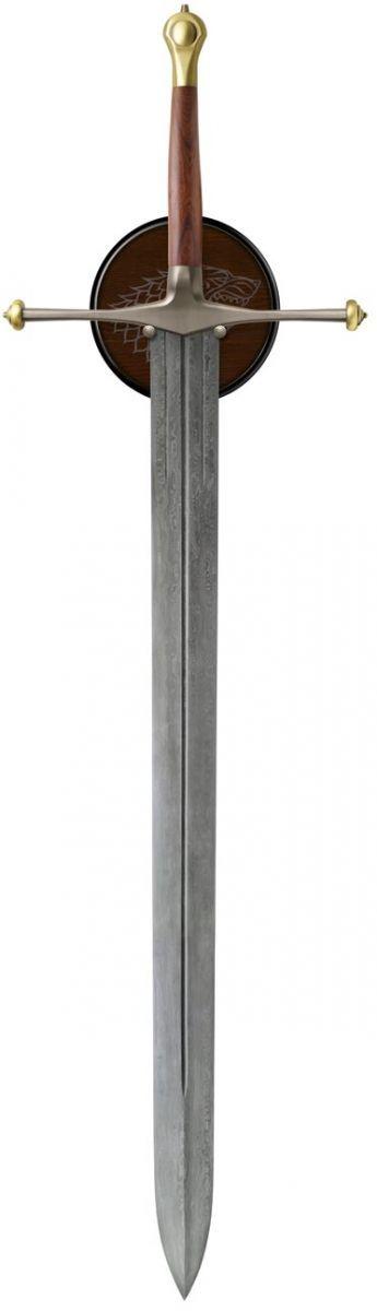 Ice, Sword of Eddard Stark Damascus. Zack Kran's replica sword that he uses against the zombies in DEAD SOIL.
