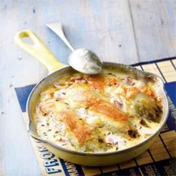 Gratin endives-jambon au maroilles - http://www.cuisineetvinsdefrance.com/,gratin-endives-jambon-au-maroilles,24113,12081.asp