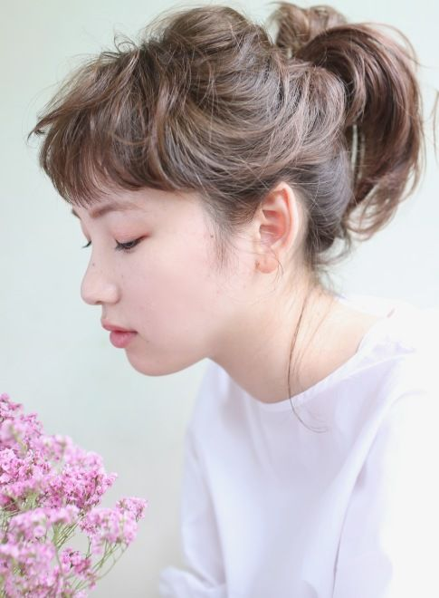 DECO×ポニーテール×外国人風カール 【DECO】 http://beautynavi.woman.excite.co.jp/salon/25557?pint ≪ #arrange #hairstyle・アレンジ・ヘアスタイル・髪形・髪型≫